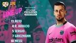 Barcelona vs. Rayo Vallecano: alineaciones
