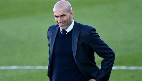 Zidane tiene contrato con Real Madrid hasta mediados del 2022. (Foto: AFP)