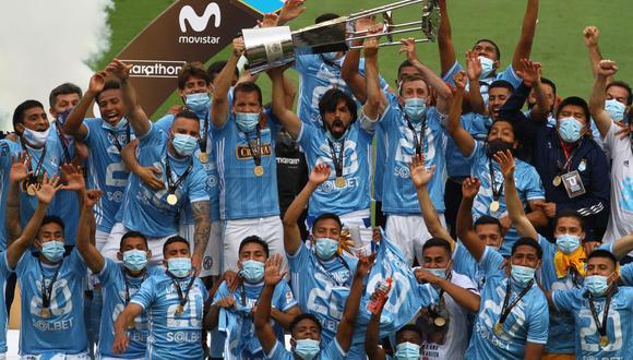 Sporting Cristal sumó 20 títulos este año en el fútbol peruano. (Foto: Liga 1)