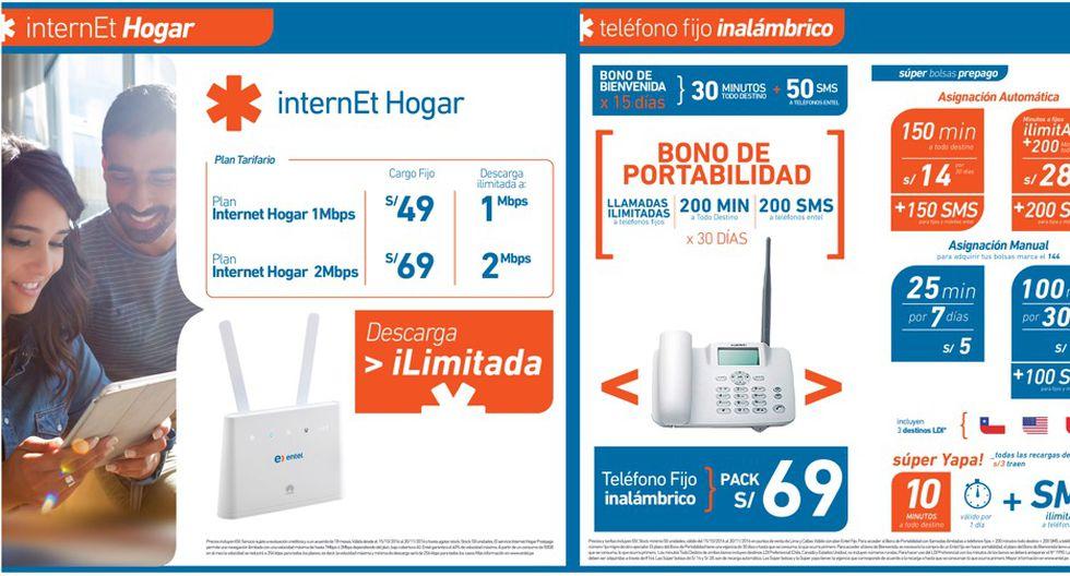 Entel Perú ofrecerá servicio de internet fijo para hogares - 2
