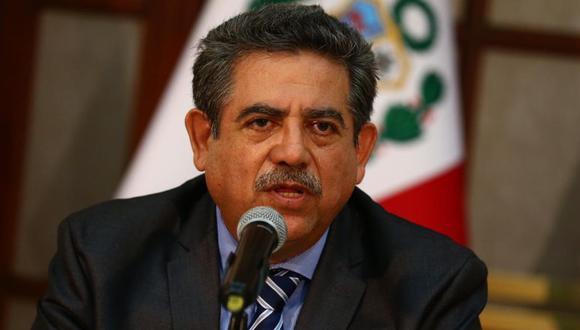 Manuel Merino de Lama señaló que la reforma electoral ha pasado a un segundo plano en el Congreso ante la aparición del coronavirus en el Perú. (Foto: GEC)