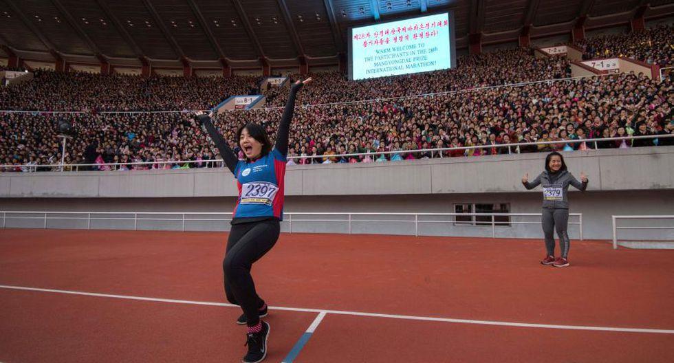 La maratón de Corea del Norte, una experiencia única [FOTOS] - 9