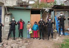Apurímac: policías donan vivienda para mujer que vivía en pobreza extrema junto a sus tres hijos
