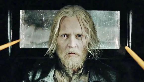 """El actor Johnny Depp interpretó al villano Gellert Grindelwald en las primeras dos películas de """"Animales fantásticos"""". (Foto: Warner Bros.)"""