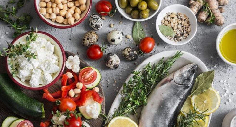 Alimentos saludables. (GETTY IMAGES)