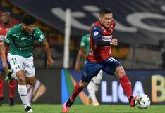 Independiente Medellín empató 1-1 ante Deportivo Cali por la Liga BetPlay