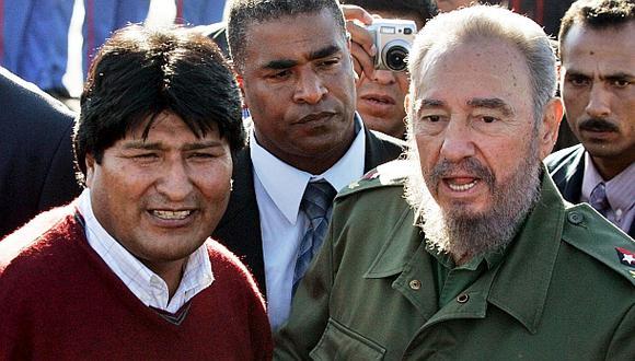 """Evo Morales: """"Fidel derrotó la dominación extranjera"""""""
