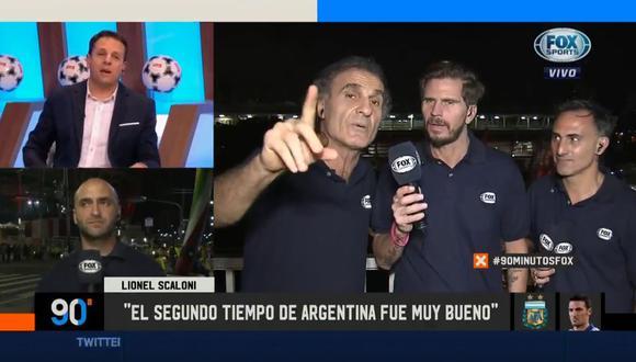 Óscar Ruggeri y su tensa discusión con panel de Fox Sports por derrota de la selección argentina ante Colombia. (Video: Fox Sports)