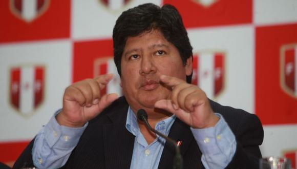 """""""El juez supremo César Hinostroza es una de las personas con las que pude haber conversado por teléfono"""", dijo también Edwin Oviedo, presidente de la FPF. (Foto: Archivo El Comercio)"""