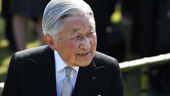 Akihito, emperador de Japón. (Foto: AFP)