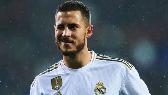 Eden Hazard volvería a tener actividad con el Real Madrid tras superar una lesión. (Foto: EFE).