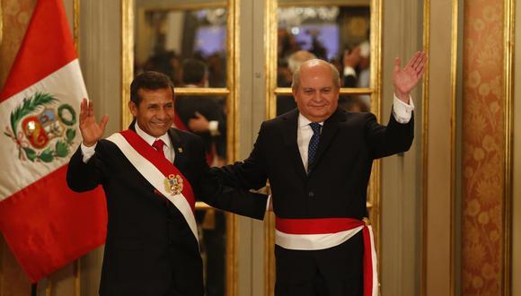 """Pedro Cateriano revela en """"Sin anestesia"""" las tensiones que tuvo con Humala cuando no acató su estrategia para disolver el Congreso. (Foto: Percy Ramírez)"""