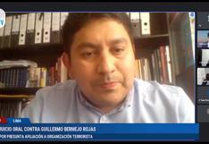 """Testigo propuesto por abogado de Guillermo Bermejo afirma que """"jamás"""" acudieron a un campamento terrorista en el Vraem"""