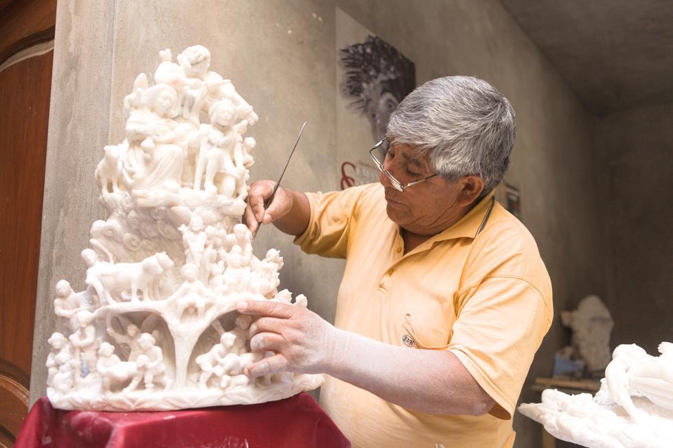Los tallados en piedra de Huamanga es una de las expresiones artísticas más famosas de esta provincia. (Foto: PromPerú)