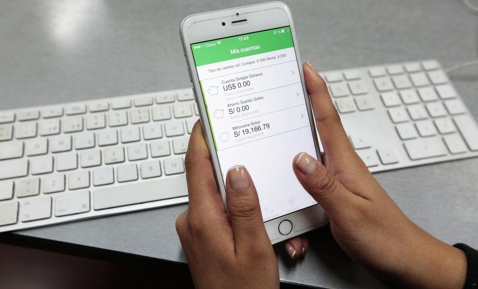 La banca móvil registró el mayor crecimiento, según Asbanc. (Foto: USI)