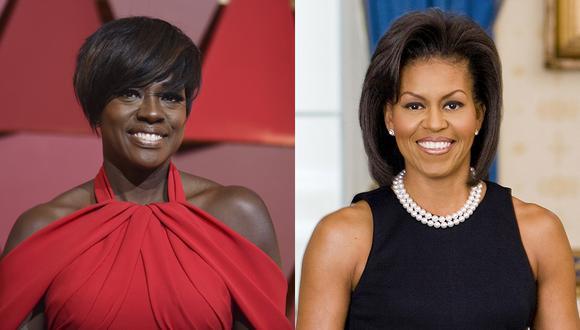 Viola Davis y Michelle Obama. (Foto: Agencia)