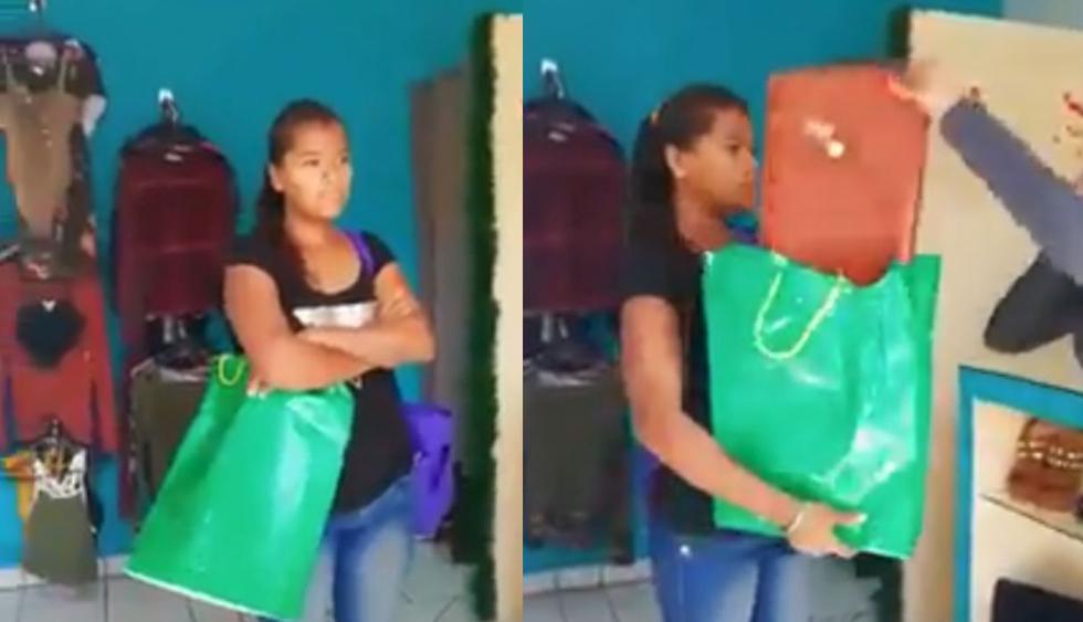 Ladrones ingresaron a robar a una tienda y son sorprendidos con las manos en la masa. En vez de arrepentirse, golpean a la dueña. (Foto: Facebook)
