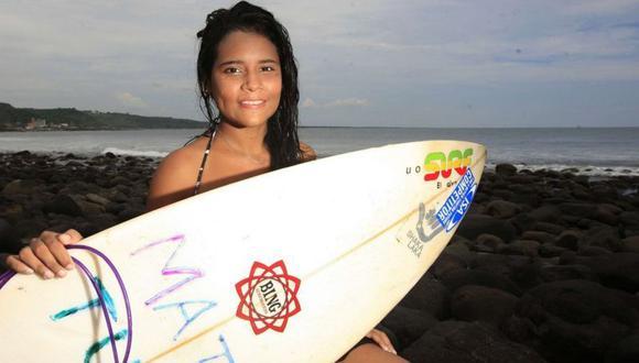 Katy Díaz murió a los 22 años cuando fue golpeada por un rayo mientras entrenaba. La salvadoreña buscaba clasificar a los Juego Olímpicos de Tokio 2020. (Foto: Cortesía La Prensa Gráfica)