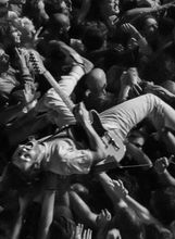 """Con """"El caos cobra vida"""" el fotógrafo José Antonio Rosas captura la inagotable energía del rock and roll. (Foto: José Antonio Rosas)"""