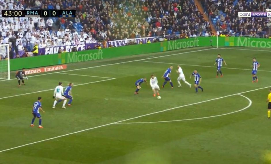 Real Madrid vs. Alavés: mira el golazo de Cristiano Ronaldo [VIDEO]