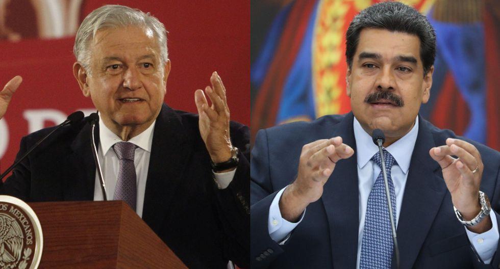 El gobierno de México ha indicado que no intervendrá en asuntos internos de Venezuela. (Foto: EFE)