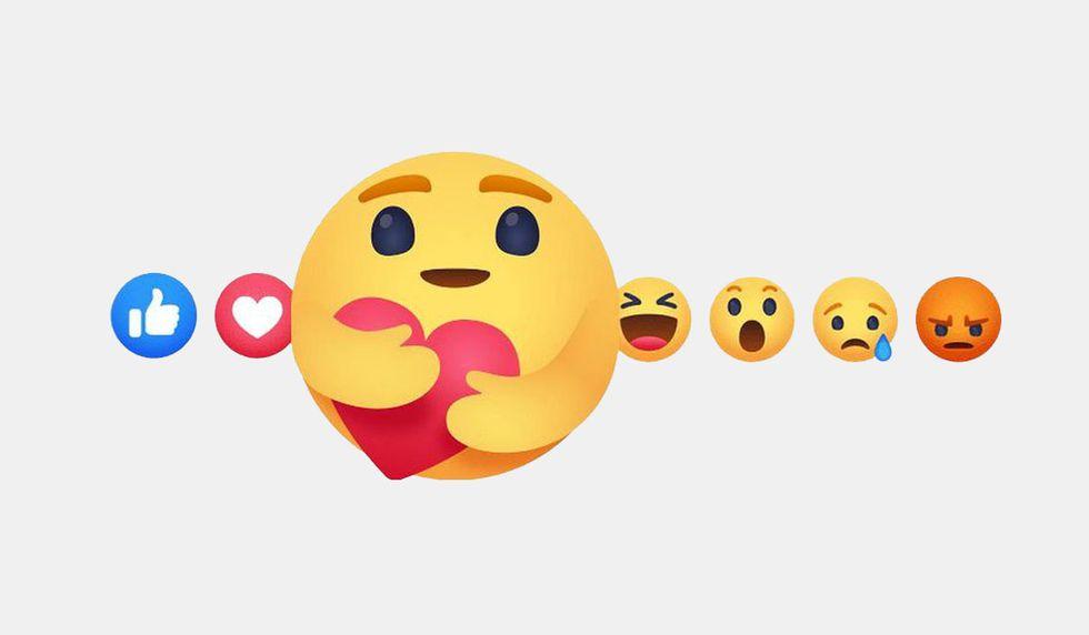 """La nueva reacción """"me importa"""" se está desplegando paulatinamente en todo el mundo. Solamente deberás estar atento. No existe ningún truco. (Foto: Facebook)"""