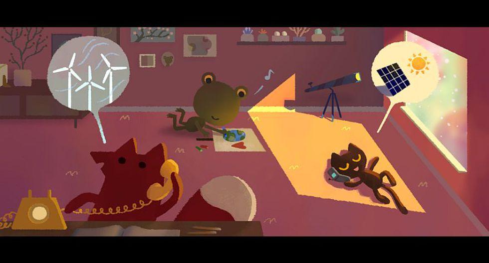 Google: doodle llama a la reflexión por el Día de la Tierra - 10
