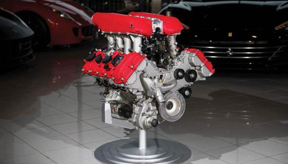La casa de subastas aún no ha mencionado el precio estimado que podría alcanzar este motor de Ferrari. (Foto: RM Sotheby's).