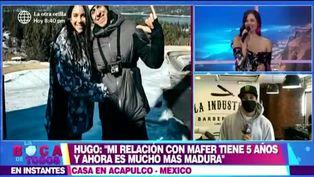 "Hugo García: ""Mi relación con Mafer Neyra está mejor que nunca"""