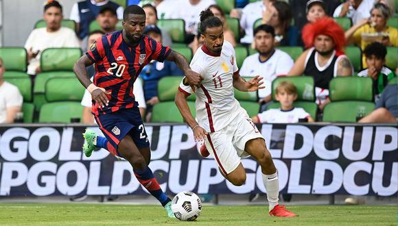 Estados Unidos derrotó a Qatar por la semifinal de la Copa Oro 2021 | Foto: @USMNT