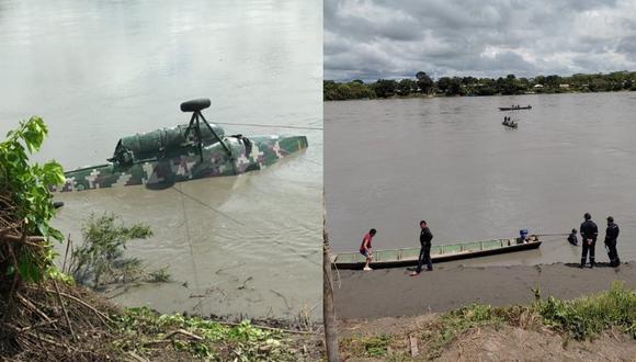 El cadáver encontrado ayer 18 de abril pertenece al SO2 EP Marco Antonio Guerra Saavedra. (Foto: Comando Conjunto)