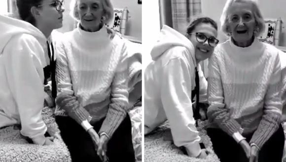 Millie Bobby Brown agradeció a su abuela por todos los tiernos momentos que vivió con ella. (Foto: Instagram / @milliebobbybrown).