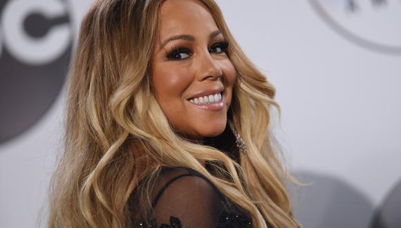 Mariah Carey ficha por Apple en el 25 aniversario de su himno navideño. (Foto: AFP/Valerie Macon)