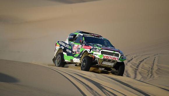 Este es el tercer Dakar para Nicolás Fuchs y su copiloto Fernando Musanno. (Fotos: Itea)