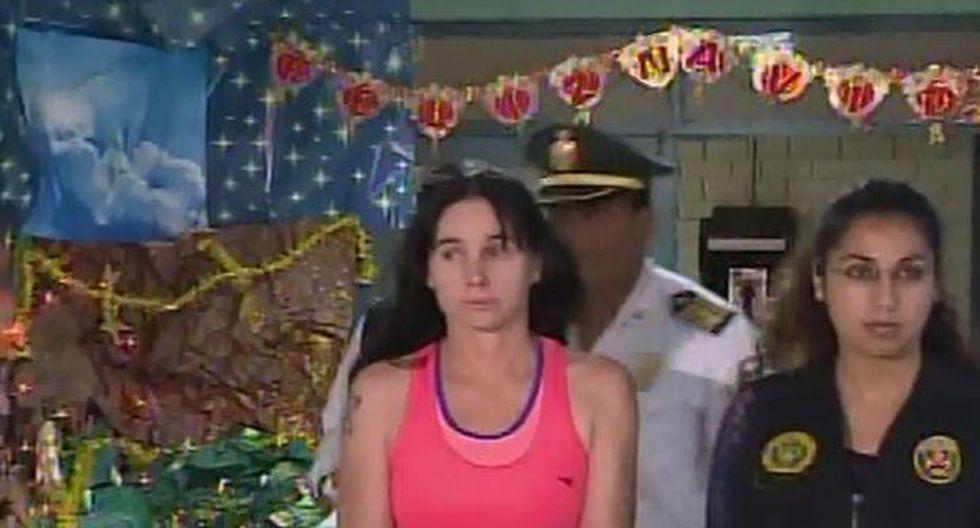 PNP espera cárcel para mujer que agredió a agente en aeropuerto