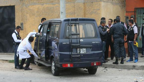 Callao: detienen a 6 sospechosos por crimen de Wilbur Castillo