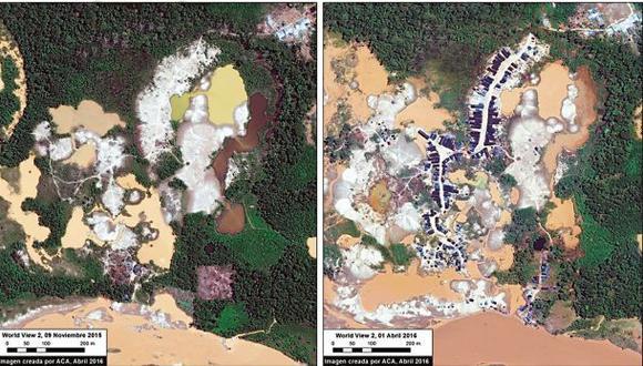 Madre de Dios: minería ilegal se intensifica en zona reservada