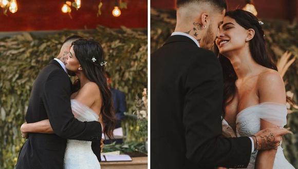 Ivana Yturbe y Beto da Silva se casaron el pasado 17 de febrero en Trujillo tras varios meses de relación. (Foto: Instagram / @ivanayturbe / @betoto1996)