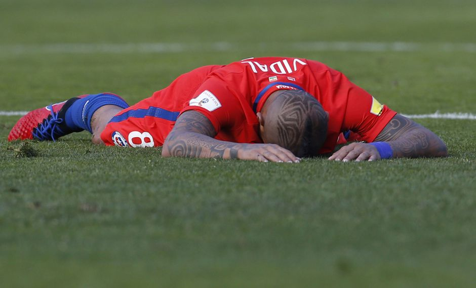 Arturo Vidal - Chile. (Foto: AFP)