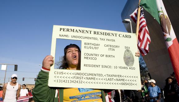 Estados Unidos: gobierno de Donald Trump negará 'green card' a migrantes legales con bajos ingresos. (AFP).