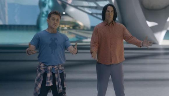 """""""Bill and Ted Face the Music"""" liberó un nuevo adelanto y presenta a sus nuevos personajes. (Captura de pantalla / YouTube)."""