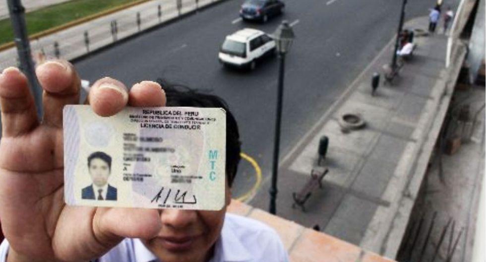 255 candidatos tienen sus licencias de conducir vencidas, según los registros del MTC. (Foto: ANDINA)