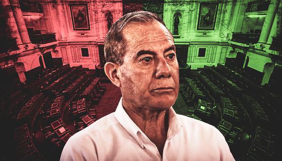 El jefe del Gabinete, Walter Martos, se presenta este martes ante el Congreso, una semana después de que el Parlamento le negara la confianza a antecesor Pedro Cateriano. (Composición: El Comercio)