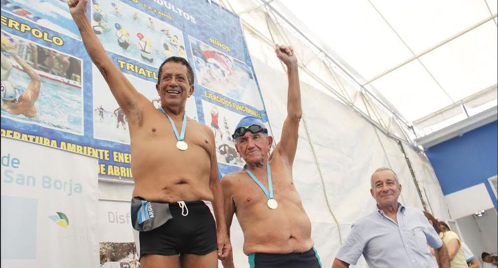 Natación y vejez saludable se juntaron en San Borja - 5
