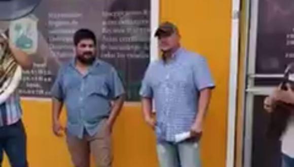 La grabación de la escena se volvió viral en poco tiempo. (Foto: Cd acuña Coahuila | Facebook)