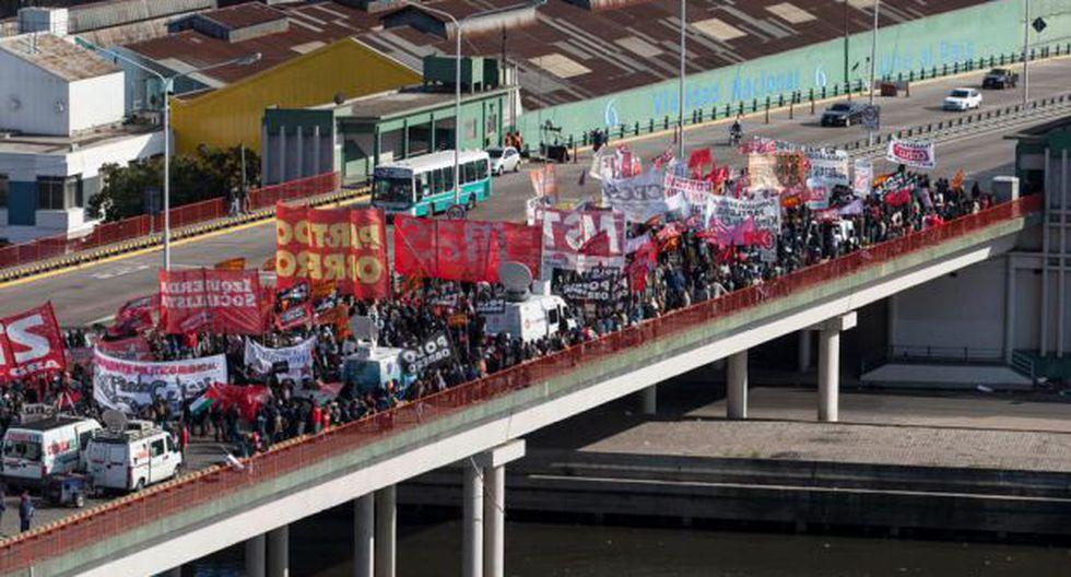 Cuatro claves para entender el paro general en Argentina