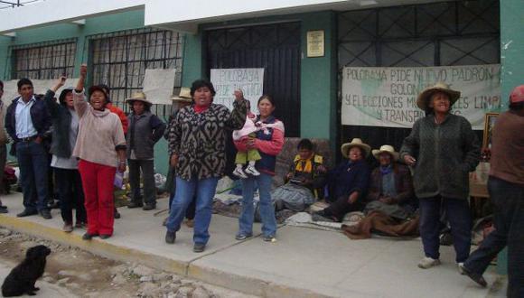 Defensoría registró 171 conflictos sociales activos en octubre
