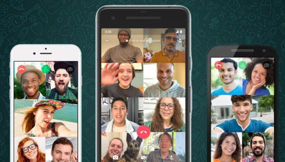 Hay diversas aplicaciones que permiten realizar videollamadas. (Foto: WhatsApp)