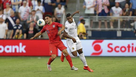 Estados Unidos venció 1-0 a Panamá y clasificó con puntaje perfecto en el Grupo D de la Copa Oro 2019. | Foto: USA