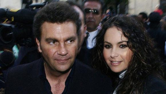 Lucero y Manuel Mijares en una foto del 2006. (Foto: Agencia)